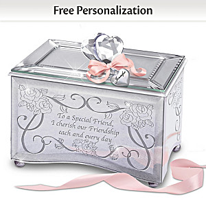 """Reflections Of A Special Friend"" Personalized Music Box"
