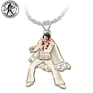 "Las Vegas ""Hip Shakin' Elvis"" Signature Pendant Necklace"