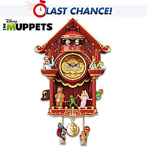 "Disney ""The Muppet Show"" Wall Clock With Light And Sound"