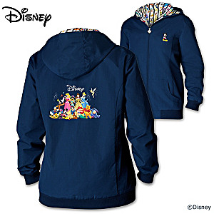 Forever Disney Women's Lightweight Hooded Jacket