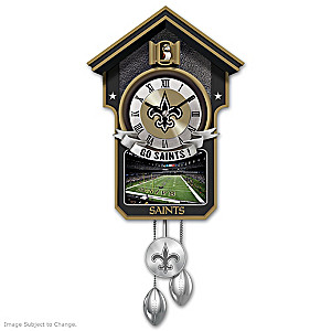 New Orleans Saints Tribute Wall Clock