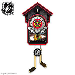Chicago Blackhawks® Tribute Wall Clock