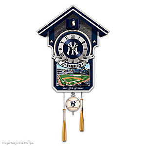 "New York Yankees ""Moments Of Greatness"" Wall Clock"