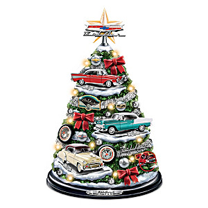 Chevrolet Bel Air Tabletop Tree With Lights And Engine Sound