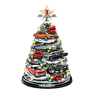 Pontiac GTO Tabletop Tree With Lights And Engine Sound