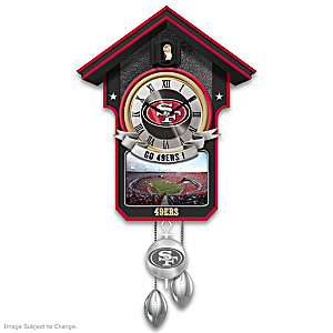 San Francisco 49ers Tribute Wall Clock