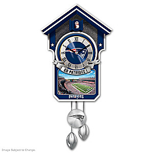 New England Patriots Tribute Wall Clock