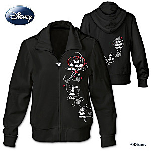 "Disney ""Love Story"" Mickey Mouse And Minnie Mouse Hoodie"