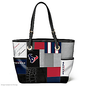 Texans For The Love Of The Game Tote Bag With Team Logos