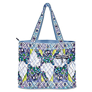 Louis Comfort Tiffany-Inspired Stained Glass Beauty Tote Bag