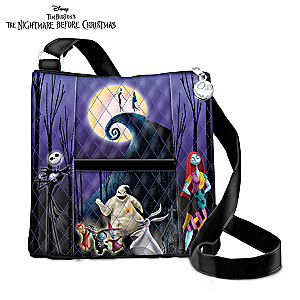 """Tim Burton's The Nightmare Before Christmas"" Quilted Handbag"
