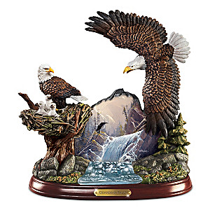 "Ted Blaylock ""Guardians Falls"" Masterpiece Sculpture"