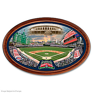 Wrigley Field 100th Anniversary Masterpiece Framed Plate
