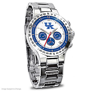 Kentucky Wildcats Commemorative Chronograph Watch