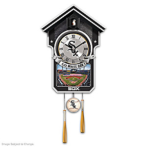 Chicago White Sox Tribute Wall Clock