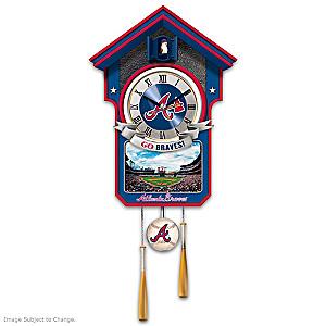 Atlanta Braves Tribute Wall Clock
