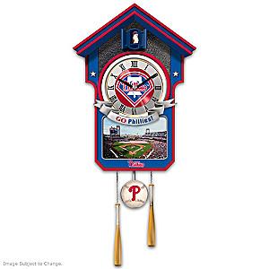 Philadelphia Phillies Tribute Wall Clock