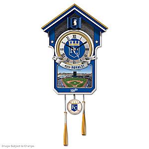 Kansas City Royals Tribute Wall Clock