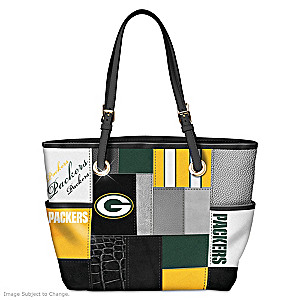 Packers For The Love Of The Game Tote Bag With Team Logos