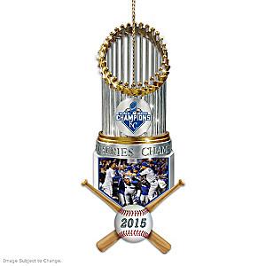 Royals 2015 World Series Champions Commemorative Ornament