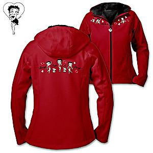 "Betty Boop ""Double The Delight"" Reversible Women's Jacket"