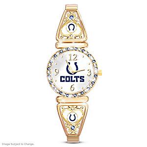 """""""My Colts"""" Ultimate Fan Women's Wristwatch"""