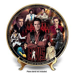Elvis 80th Anniversary Masterpiece Collector Plate