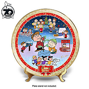 """A Charlie Brown Christmas"" 50th Anniversary Collector Plate"