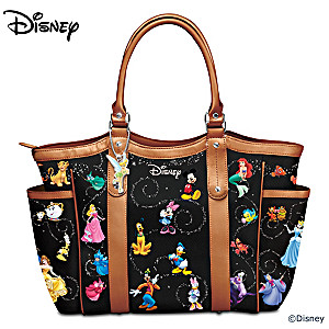 "Disney ""Carry The Magic"" Designer-Style Tote Bag"