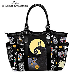 Disney Tim Burton's The Nightmare Before Christmas Tote Bag