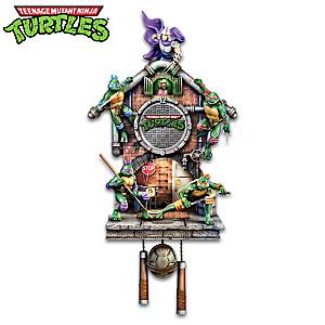 Teenage Mutant Ninja Turtles Lighted Clock Plays Theme Song