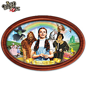 """Adventures In Oz"" Framed Collector Plate"