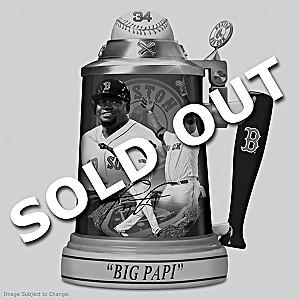 David Ortiz: Red Sox Career Celebration Porcelain Stein
