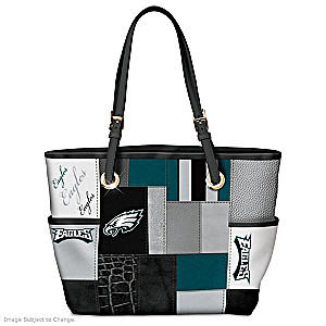 Eagles For The Love Of The Game Tote Bag With Team Logos