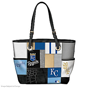 Royals Tote Bag With Team Logos