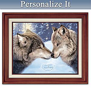"Dan Smith ""True Companions"" Framed Personalized Canvas"