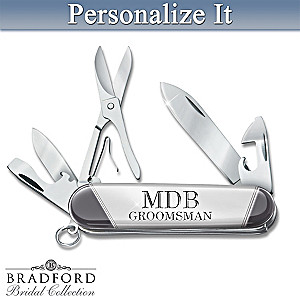 Personalized Engraved Knife Set: Choose Your Design