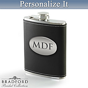 Personalized Stainless Steel Flask: Choose Your Design