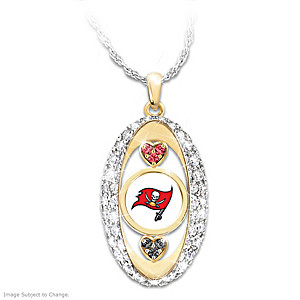 """""""For The Love Of The Game"""" Tampa Bay Buccaneers Pendant"""
