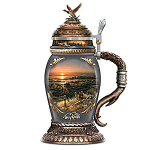 "Terry Redlin ""Simple Pleasures"" Heirloom Porcelain Stein"