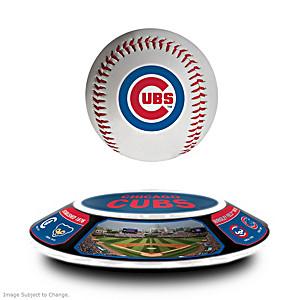 Cubs Levitating Baseball Lights Up And Spins