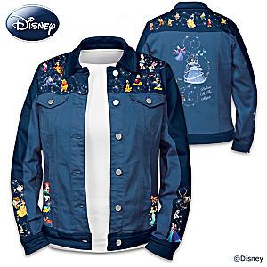 Forever Disney Women's Denim Jacket