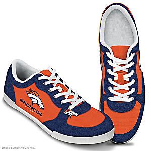 Denver Broncos #1 Fan Women's Shoes