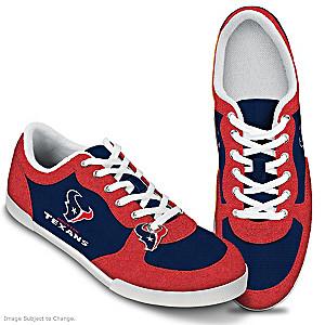 Houston Texans #1 Fan Women's Shoes