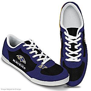 Baltimore Ravens #1 Fan Women's Shoes