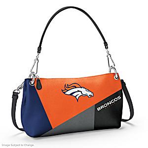 Denver Broncos Convertible Handbag