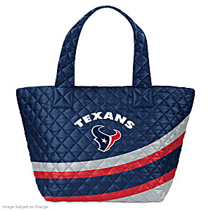 Houston Texans Nylon Quilted Tote Bag
