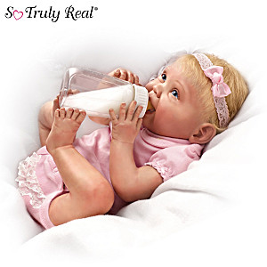 Bonnie Chyle Lifelike Baby Doll With Bottle