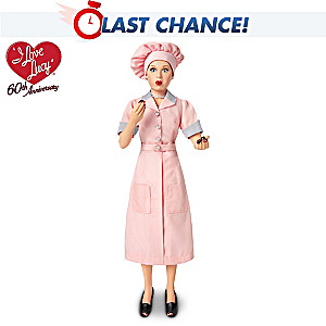 "I LOVE LUCY Candy Factory ""Talking"" Doll"