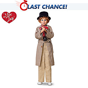 "I LOVE LUCY Lucy And Harpo Marx ""Talking"" Fashion Doll"